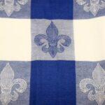 Blue FDL Check Towel 5162
