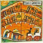 French Quarter Wall Art 8x8 8754