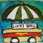 Lucky Dog Wall Art 4870