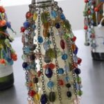 Bottle Cover-Glass Bead 4551