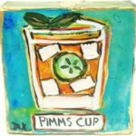 Pimms Cup Wall Art 8694